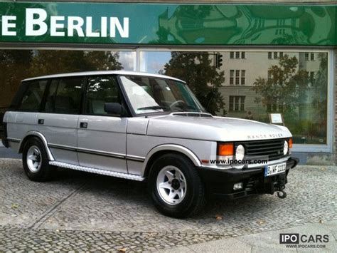 how make cars 1993 land rover range rover classic electronic valve timing 1993 land rover range rover lsei car photo and specs