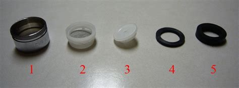 how to reassemble your faucet s aerator interests