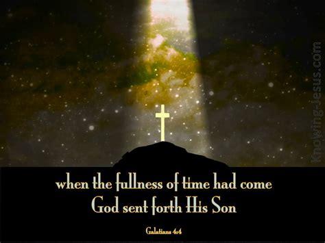 Galatians 4 4 God Sent Forth His Son Gold