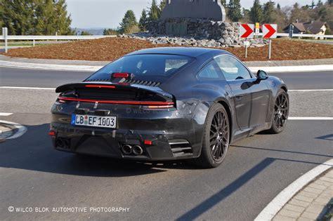 Porsche Panamera 911 by 2019 Porsche 911 Reveals Panamera Like Rear In New