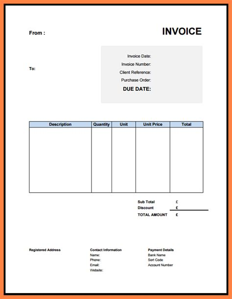 limited company invoice template 5 limited company invoice template company letterhead