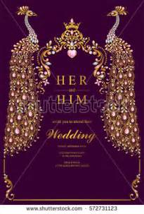 indian wedding invitation stock images royalty free