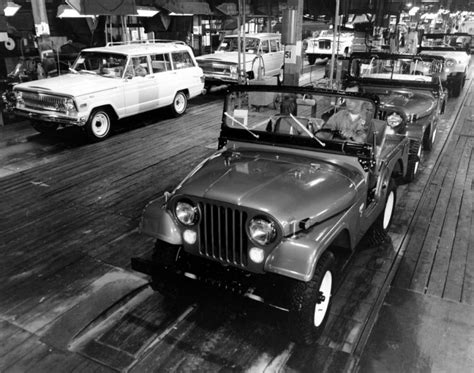 Jeep Factory Jeep Vintage Factory Pictures Advertising Archive