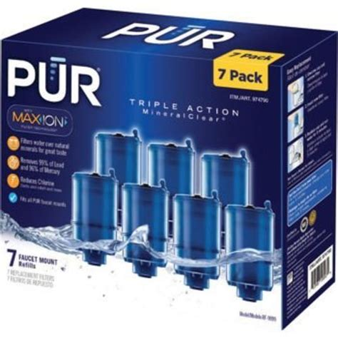 pur rf 9999 mineral clear faucet refill economy pack 7