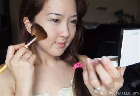 Laneige Contour Brush 06 step by step makeup tutorial how to conceal bruise with