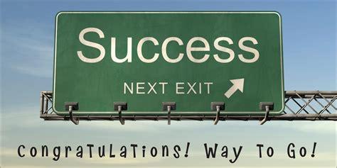 Congratulation Cards On Success