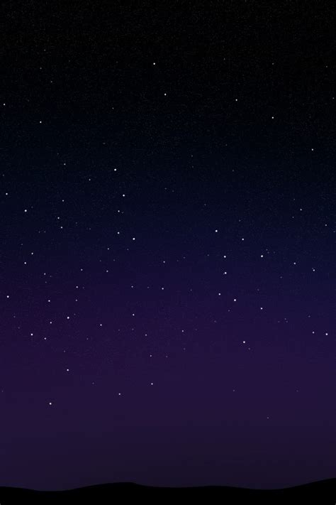 starry night sky iphone  wallpaper