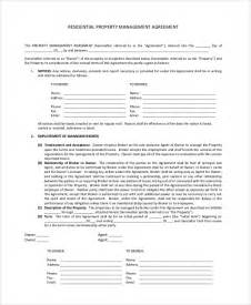 property manager agreement template doc 696900 property management agreements property