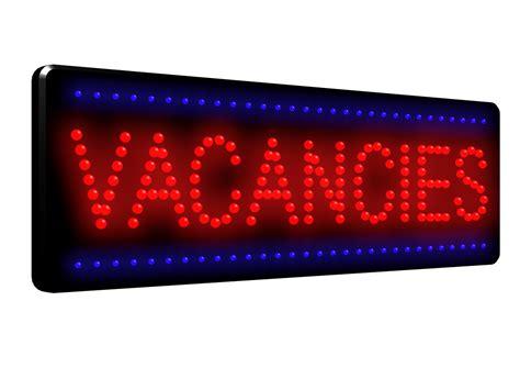 weight management vacancies vacancies led sign