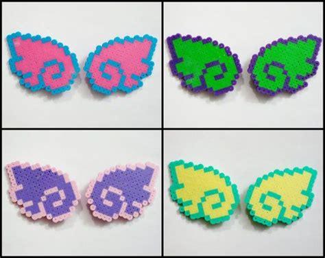 perler bead hair accessories 2pc wings hair pastel sweet