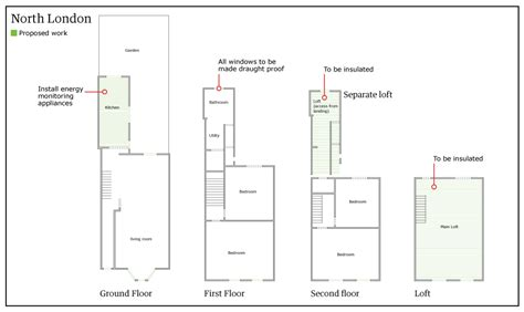 terraced house plans uk uk terraced house floor plans escortsea