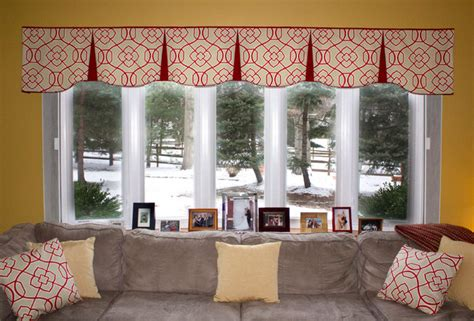 valances for living room windows emilee hidden rod pocket valances contemporary living