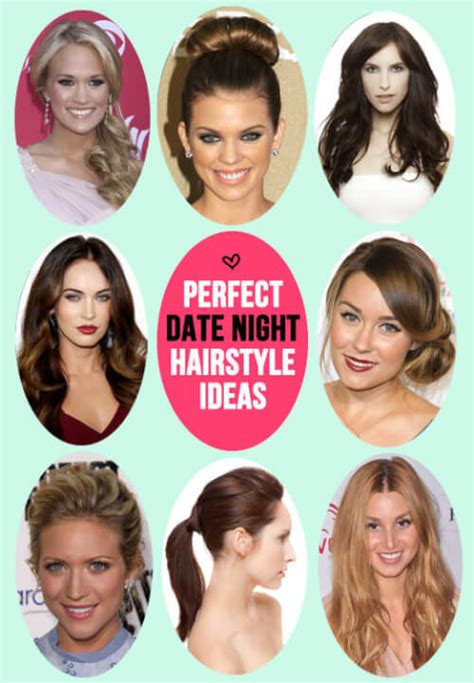 diy hairstyles for going out 11 easy diy date night hairstyles