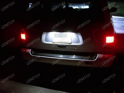 nissan altima license plate light nissan altima infiniti jx35 qx60 led license plate light ls