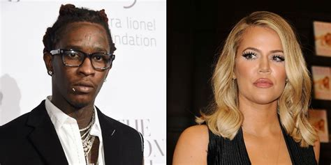 young thug name young thug has a message for khloe kardashian about her