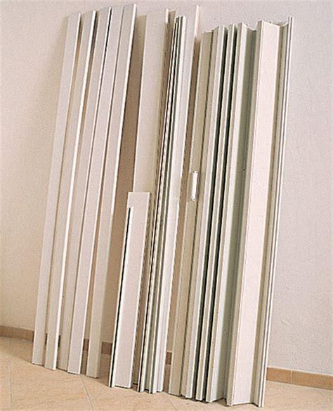 montaggio porte a soffietto installare porte a soffietto bricoportale fai da te e