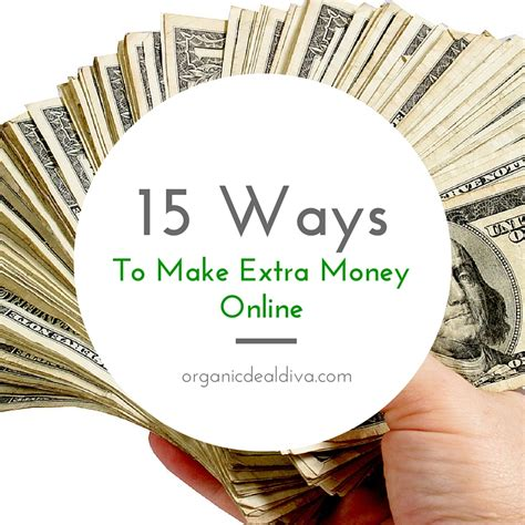 Making Extra Money Online - 15 ways to make and save extra money