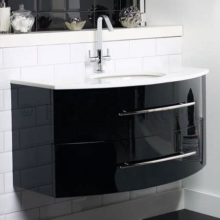 black bathroom vanity unit crescent basin vanity unit 163 627 75 bathroom furniture
