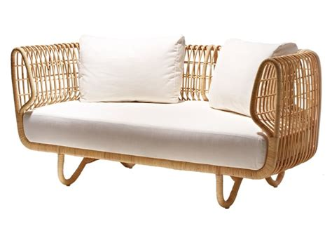 cane sofa sustainable rattan indoor furniture by cane line