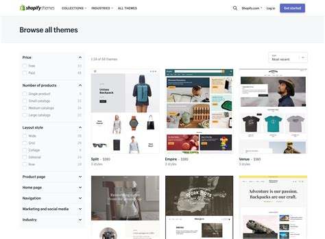 themes on shopify how to pick the perfect theme for your shopify store
