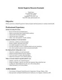 dental assistant resume objective resume badak
