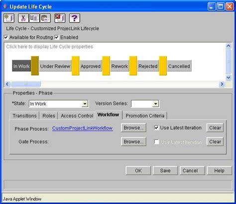 windchill workflow customized workflows