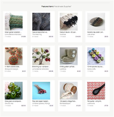 Folksy Handmade - folksy featured handmade supplies