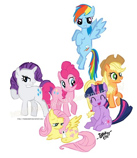 the of my pony the my pony friendship is magic by itsdanielle91 on