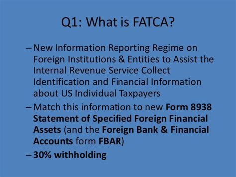 practical guide to fbar and fatca reporting for individual filers books fatca lectures 2013