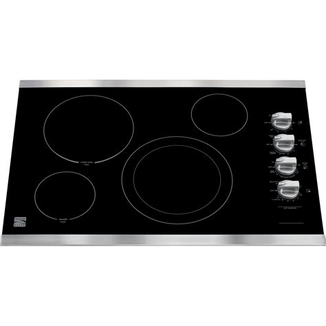Kenmore Elite Cooktop Manual kenmore elite 45113 45113 30 quot electric cooktop stainless steel sears outlet