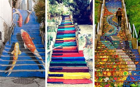 17 of the most beautiful steps around the world bored panda 17 of the world s most beautifully artsy steps
