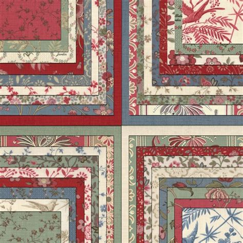 General Quilt Fabric by Moda La Fleur By General Layer Cake 42 10