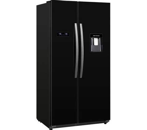 American Fridge Freezer Black No Plumbing buy kenwood ksbsdb15 american style fridge freezer black