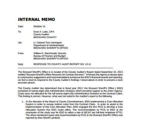 sle internal memo template 12 free documents