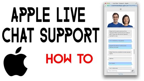 apple live chat how to access apple live chat support 2017 youtube