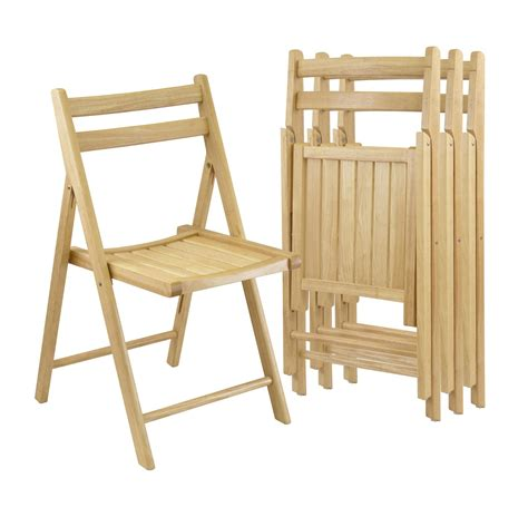 winsome set   folding chairs   oj commerce