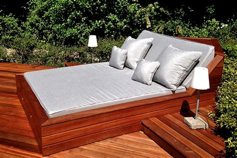 patio sofa bed outdoor pool beds overview deck pinterest cushions