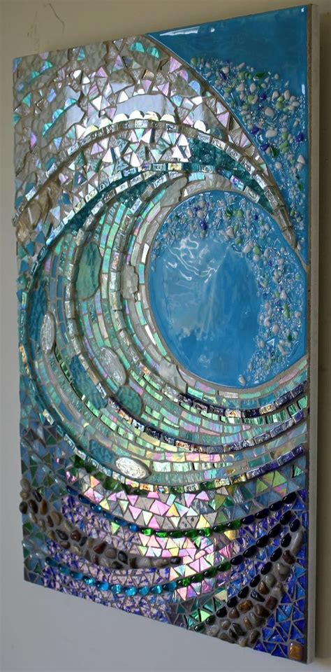 Blue Mosaic Badezimmeraccessoires by Best 20 Broken Mirror Ideas On Broken