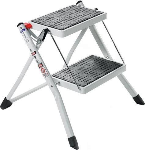 White 2 Step Stool by White 2 Step Ladder In Step Stools