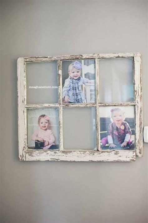 cornice portafoto fai da te portafoto fai da te con una vecchia finestra 20 idee