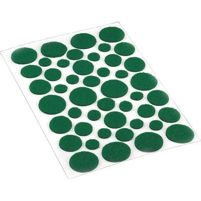 shepherd hardware light duty felt pads green assorted
