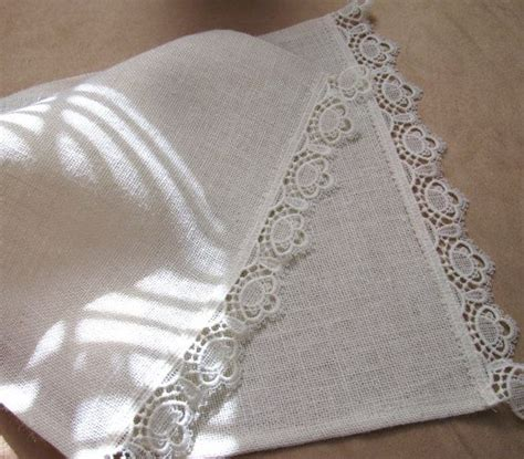simply shabby chic burlap table runner country living home decor burlap table runners
