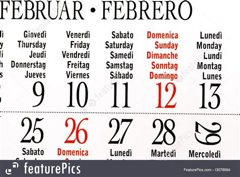 Was Calendar Leap Year Calendar Of Leap Year February Image