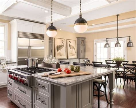 Kitchen Island Range by Island Cooktop Houzz