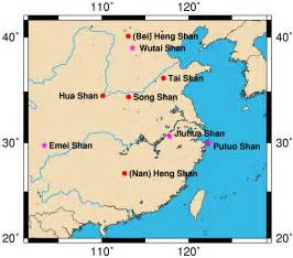 map of mountains file map sacred mountains of china jpg wikimedia commons