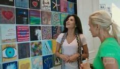 how did yolanda foster start her canvas walls small painting gallery wall paint it monday valentine