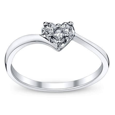 cupid s engagement ring pick for valentine s heart