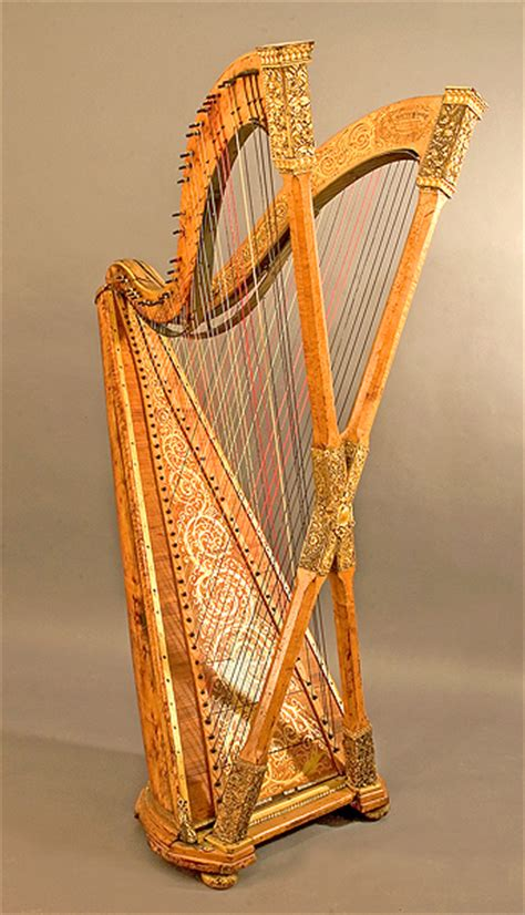 L Harps by Chromatic Harp By Henry Greenway Ny