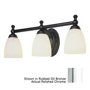 Vanity Lights At Lowes Shop Bel Air Lighting 3 Light Polished Chrome Bathroom