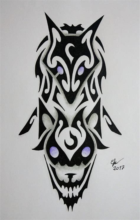 chions league tattoo designs tribal kindred by esmeekramer on deviantart